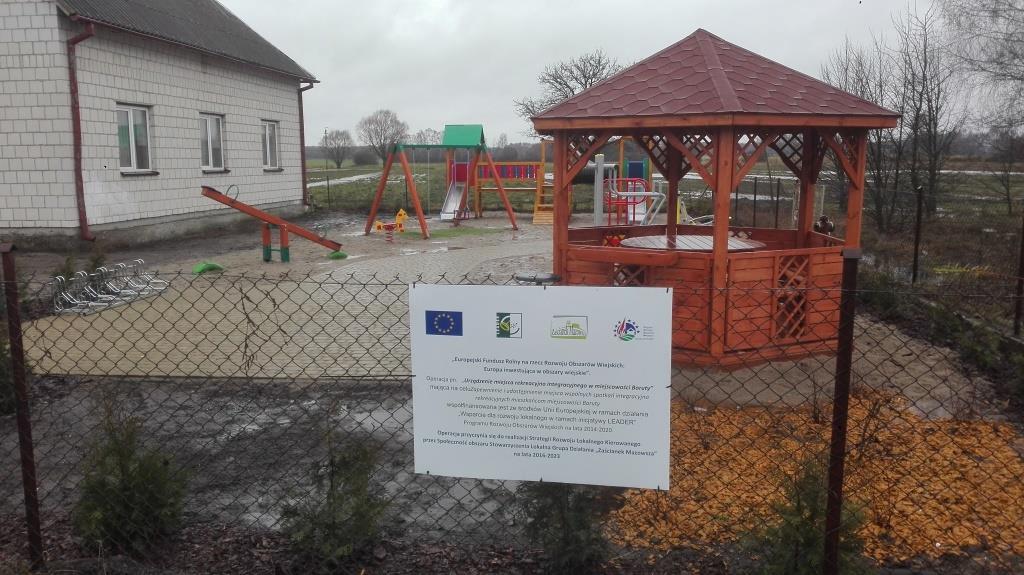 Utworzenie miejsca rekreacyjno integracyjnego w miejscowości Boruty